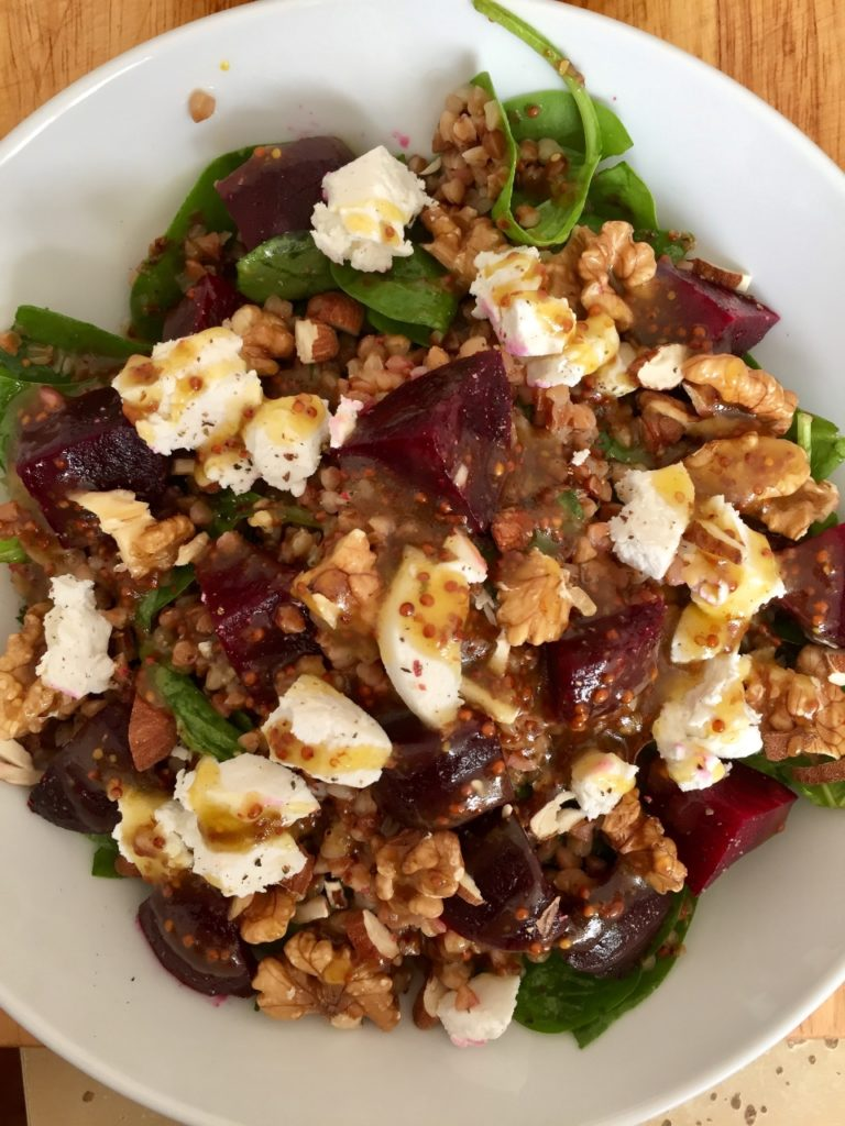 Buckwheat and Beetroot Salad