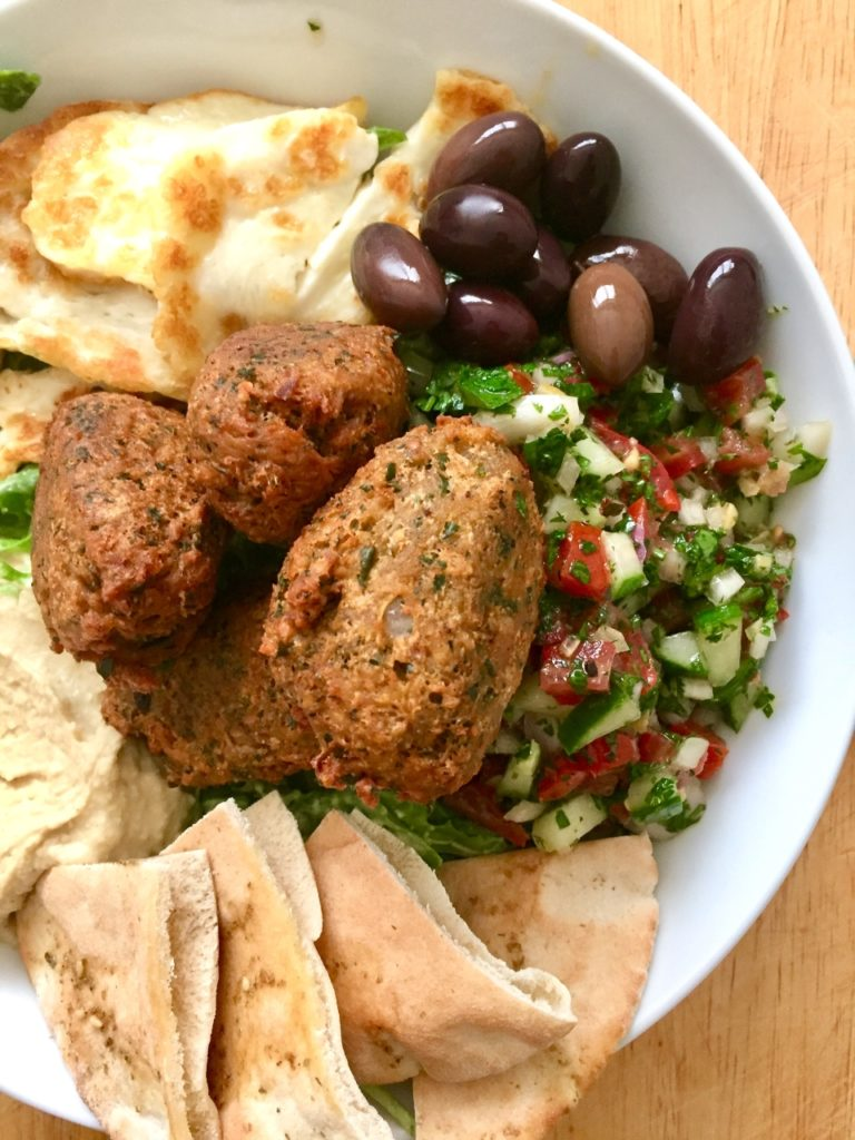 Falafel Salad Bowl 3