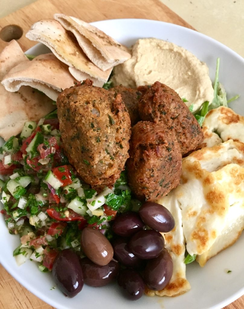 Falafel Salad Bowl 2